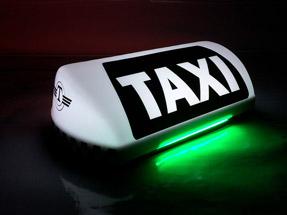 Шашки такси Метрополь NEON