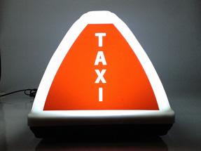 Рекламный световой короб на такси «Стрит»
