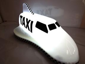 Шашка для такси «Самолет»