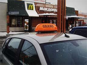 Шашки на такси фото «Гранд Евро»