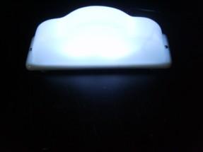 Светодиодная подсветка шашки на такси