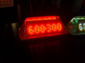 Светодиодные шашки на такси «Триумф Светодиодная»