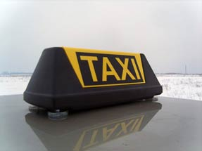 Шашка такси «Командир-AV»