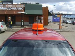 Шашка такси «Цилиндр Евро»