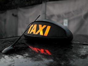 Шашки такси «Лондон» в европейском стиле