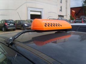 Шашки такси на кронштейне «К-1»