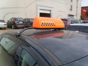 Шашки такси на кронштейне «К-2»