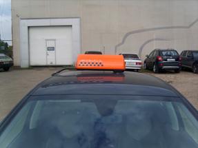 Шашки такси на кронштейне «K-2»