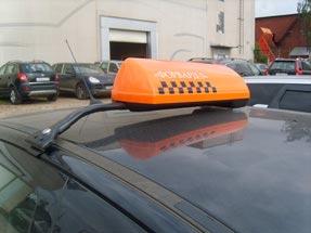 Шашки такси на кронштейне «К-3»