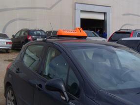 Шашки такси на кронштейне «K-4»