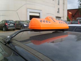Шашки такси на кронштейне «K-5»