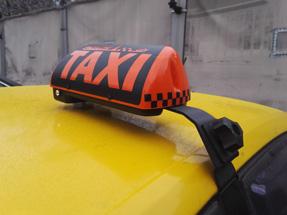 Шашка такси на кронштейне «Ретро»