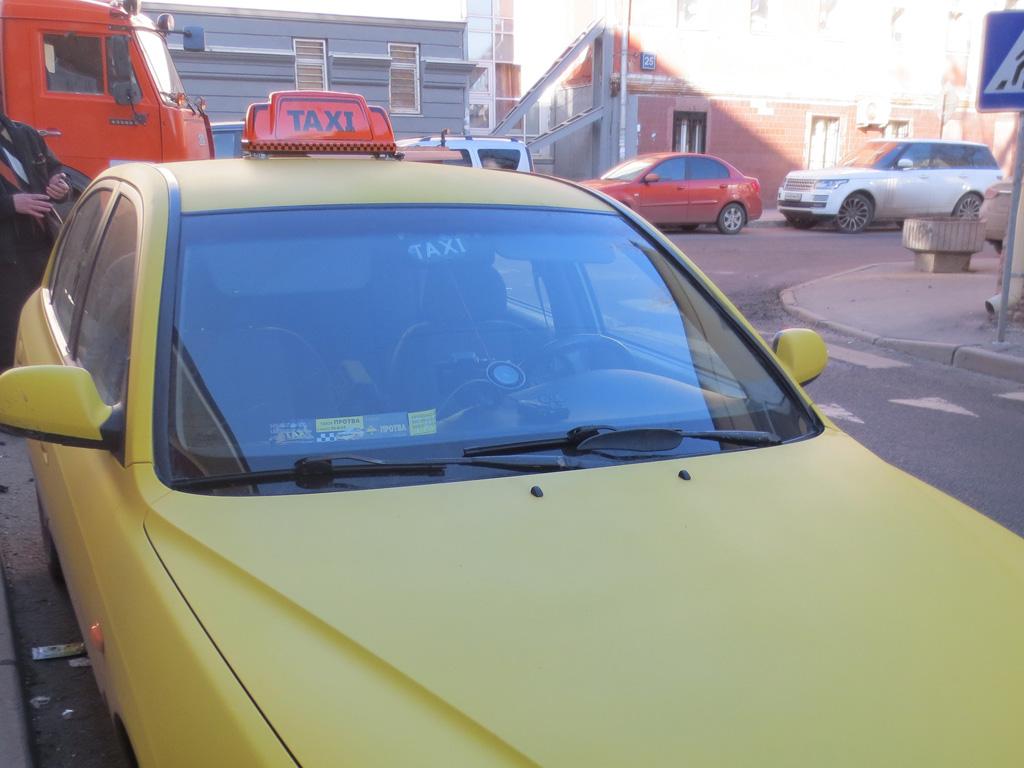 Шашки на такси «Омега Евро»
