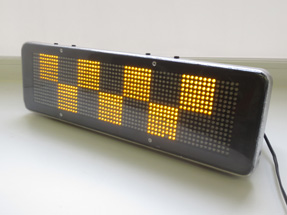 Светодиодные LED шашки на такси «T1»