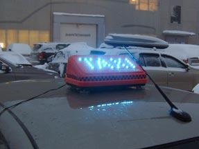 Светодиодные шашки такси
