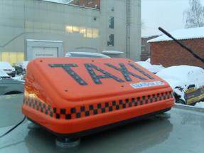 Светодиодные шашки такси «Форсаж Евро»