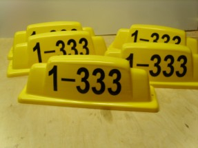 рисунок шашки на такси